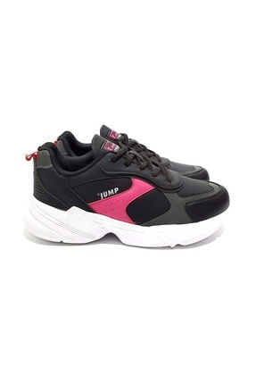 Jump Kadın Siyah Sneakers Ayakkabı 38
