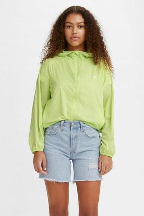 Levi's Kadın Lina Packable Windbrkr Shadow Lime Yeşil  Kadın Mont 2459100020