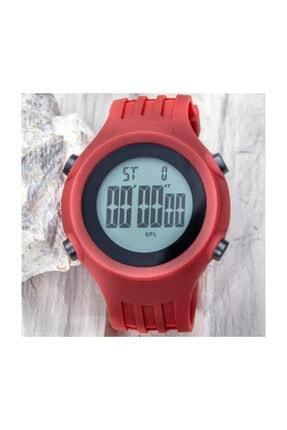 Spectrum Watchart Dijital Unısex Sporcu Dağcı Kol Saati Japon Mekanizma Bordo St-303380