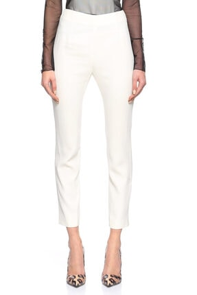 Alexander McQueen Beyaz Pantolon