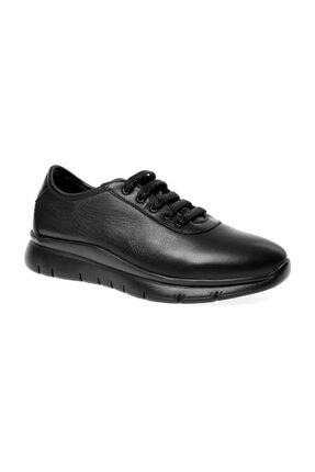 Frau Kadın Siyah Spor Ayakkabı 4221 Nero Guanto Xl