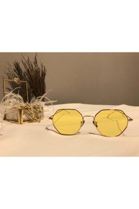 Optelli  Kadın Sarı Güneş Gözlüğü 2480 04 50-18-145