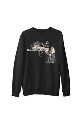 Lord Unisex Siyah Sweatshirt