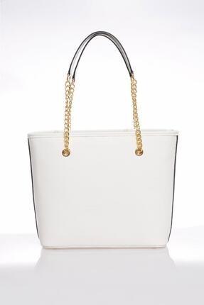 Sergio Giorgianni Kadın Beyaz Omuz Çantası Luxury Mp9131 Belinda