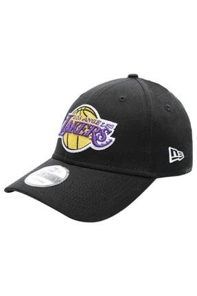 New Era Unisex Siyah Los Angeles Lakers Şapka 12325298