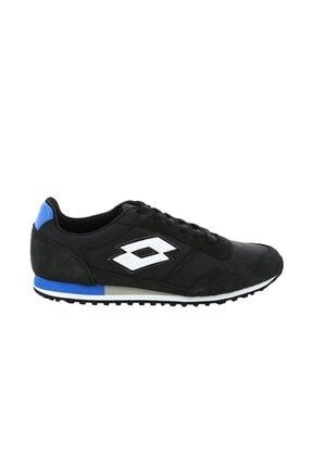 Lotto Unisex Siyah Mavi Ayakkabı Alden R9344