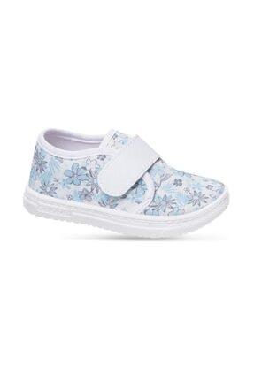 Sanbe 402 R 108 26-30 Keten Ayakkabı Beyaz