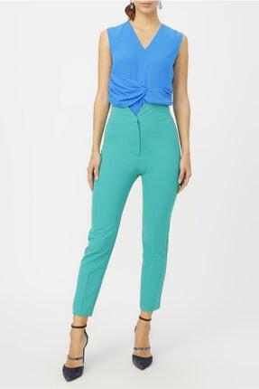 Random Kadın Yüksek Bel Klasik Kesim Pantolon %95 Polyester %5 Elastane