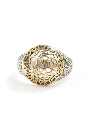 Nusret Takı Kadın 925 Ayar Gümüş Kubbe Filigran Desenli Yüzük