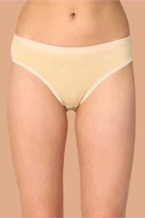 Tutku Kadın Gri 6'lı Paket Pamuklu Su Yolu Bikini Külot