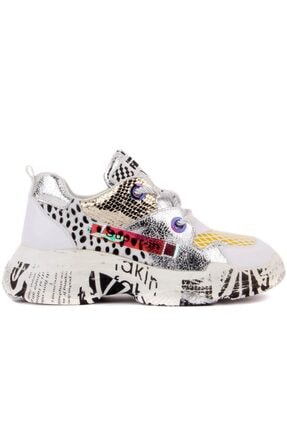 Guja Bağcıklı Kadın Sneaker Ayakkabı