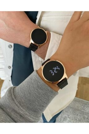 Ricardo Led Ekranlı Çift Kol Saatleri Sevgili Saati Dokunmatik Ekranlı Saat