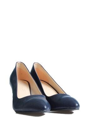 Punto Kadın Lacivert Günlük Topuklu Ayakkabı 553009