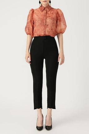 Random Kadın Yüksek Bel Cigarette Pantolon %100 Polyester