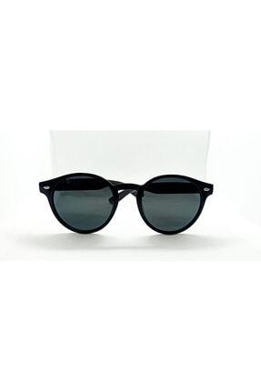 De Valentini Unisex Siyah Polarize Güneş Gözlüğü