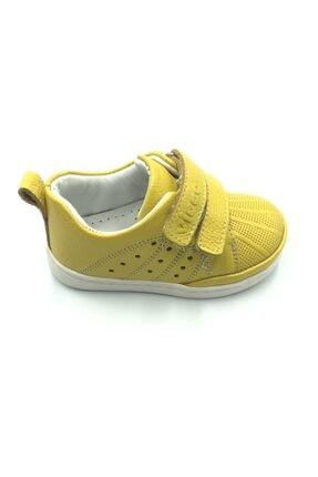 Vicco Unisex Ilk Adım Sarı Deri Ayakkabı