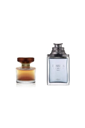 Oriflame Possess The Secret 75 Ml Edp Erkek Parfümü + Amber Elixir 50 Ml Edp Kadın Parfümü Seti