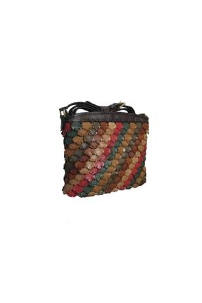 GÖN Handmade Deri Postacı Çanta (Sakır Multı)