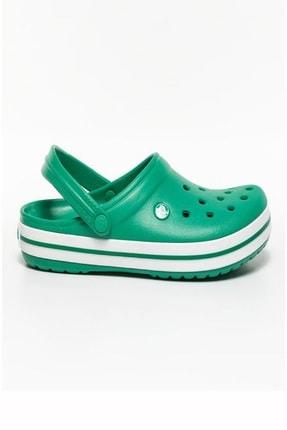 Crocs Crocband Bayan Terlik - Deep Green/white
