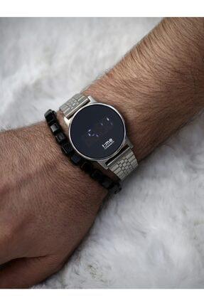 Timewatch Unisex Gümüş Dokunmatik Saat