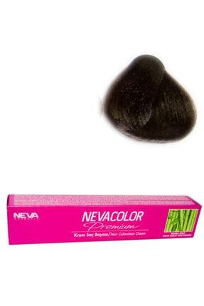 Neva Color Tüp Boya 6.71 Koyu Kumral Küllü Kahve