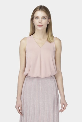 W Collection Pembe Kolsuz Bluz