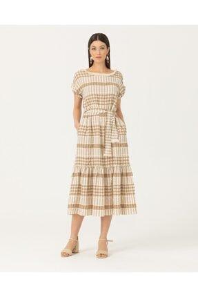 Seçil Kadın Bej Elbise