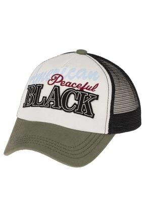 Kitti Unısex Genç 9-15 Yaş Casual American Black Şapka