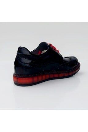 Sanbe F410 Hakiki Deri Rugan Ayakkabı Unisex