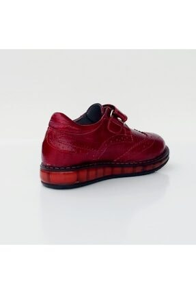 Sanbe P410 Hakiki Deri Rugan Ayakkabı Unisex