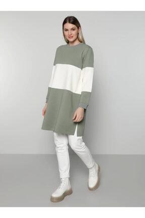 Alia Kadın Büyük Beden Iki Renkli Tunik