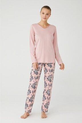 Mod Collection Kadın Pembe Pijama Takım