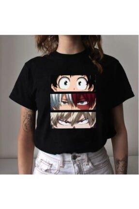 Köstebek Touz My Hero Academia - Mix Eyes Unisex T-shirt