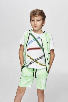 Nebbati Erkek Çocuk Yeşil Yelek