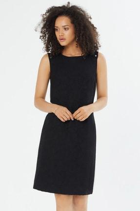 Naramaxx Kadın Siyah Sıfır Kollu Elbise 18Y11112Y984001-Sıyah