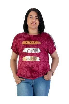 Günay Giyim Kadın Bordo Bluz 00340010001010