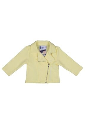 Bebepan 4013 Kız Bebek Sarı Pıneapple Hırka