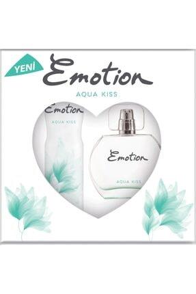 Emotion Aqua Kiss Parfüm Set 50 Ml Parfüm & 150 Ml Deodorant