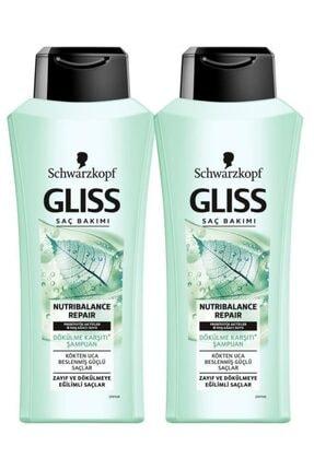 Gliss Nutrıbalance Şampuan 360 ml X2 Adet
