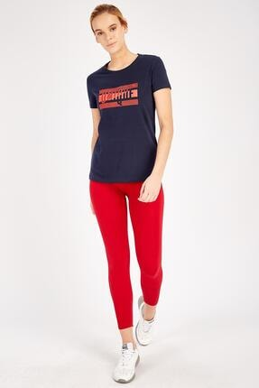 Kadın Gri Sportswear T-shirt MWSS2018794TSH001