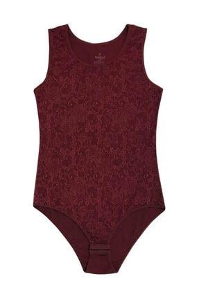 ÖZKAN underwear Özkan 23982 Kadın Çıtçıtlı Body