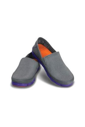 Crocs Stretch Sole Loafer Women Koyu Gri Kadın Loafer Ayakkabı