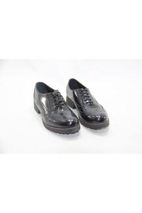 İnci Kadın Siyah Hakiki Deri Ayakkabı