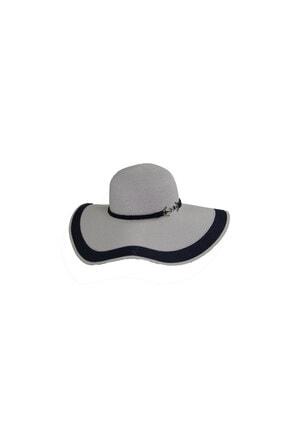 Bay Şapkaci Beyaz Kadın  Hasır Şapka