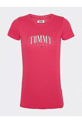 Tommy Hılfıger Kadın T-shırt Dw0dw08061-xıf DW0DW08061-XIF