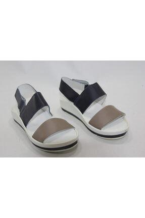 İnci Kadın Beyaz 36 Numara Hakiki Deri Topuklu Ayakkabı