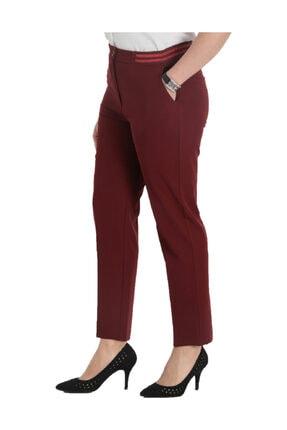 Günay Giyim Kadın Bordo Kumaş Pantolon 44243200002105