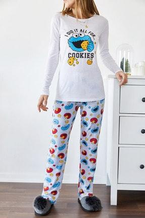Xhan Baskılı Pijama Takımı 9kxk8-43304-01