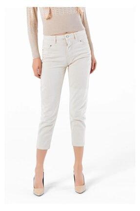 Tiffany A0214 Önü Robalı Mom Pantolon