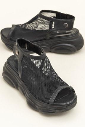 Elle ANYANA Siyah Sandalet 20YRE2605